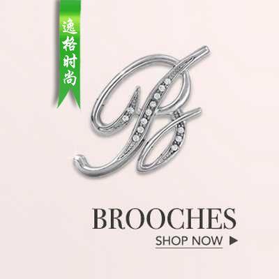 字母主题 26个英文字母时尚胸针饰品徽章