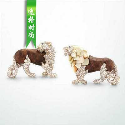 诺亚方舟主题 梵克雅宝高级珠宝动物造型系列