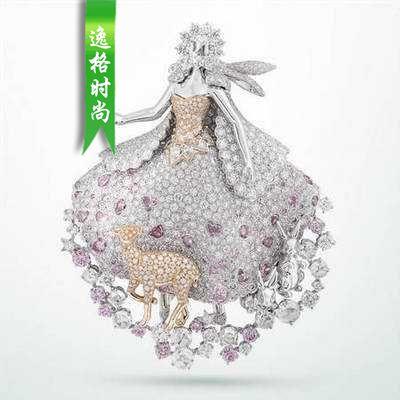 童话故事主题 梵克雅宝高级珠宝手稿系列