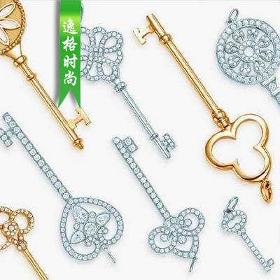 钥匙主题 蒂芙尼Tiffany Keys开启无限可能