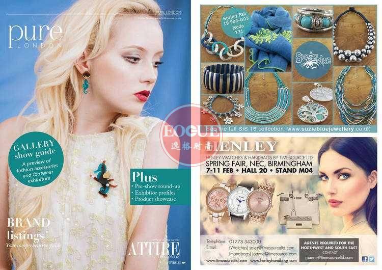 Attire Accessories 英国珠宝配饰专业杂志 1-2月号N56