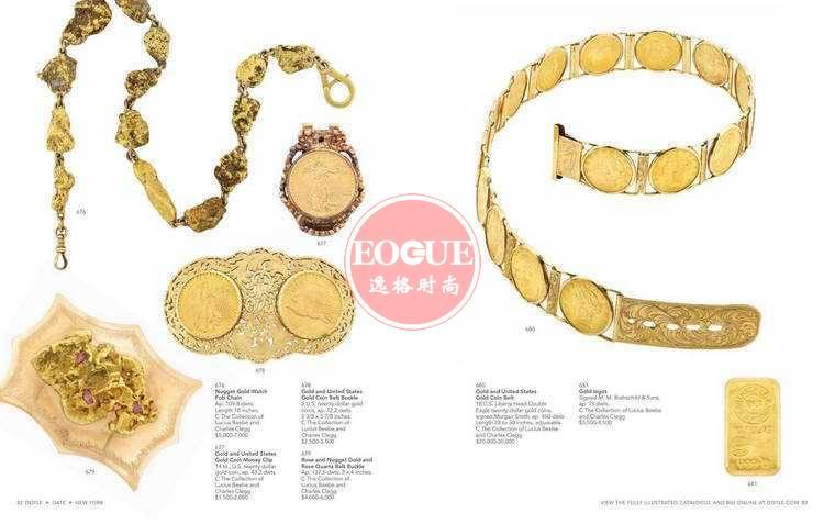 DOYLE 美国纽约高级珠宝专业杂志 9月号N1609