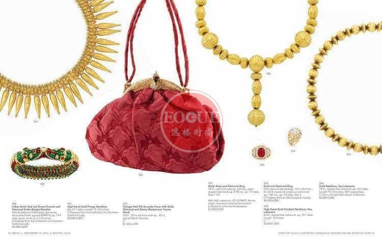 DOYLE 美国纽约高级珠宝专业杂志 11月号N1611