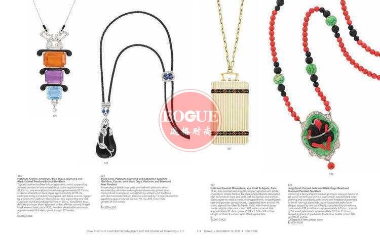 DOYLE 美国纽约高级珠宝专业杂志 12月号N1712