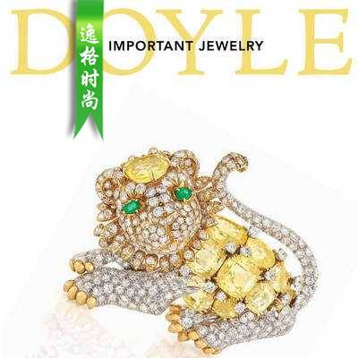 DOYLE 美国纽约高级珠宝专业杂志 4月号N1804
