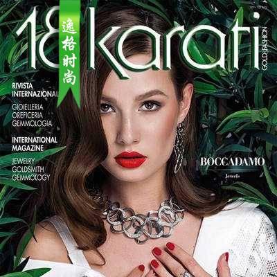 18Karati 意大利K金珠宝首饰设计专业杂志 11月号N1611