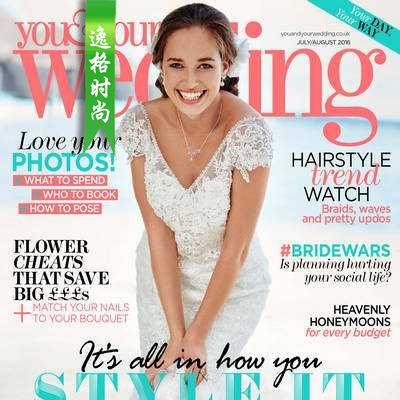 You & Your Wedding 英国时尚婚纱杂志8月号 N1608
