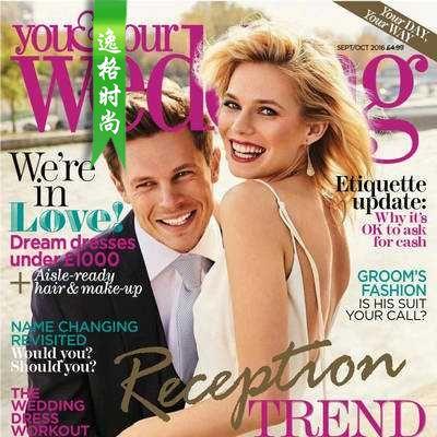 You & Your Wedding 英国时尚婚纱杂志10月号 N1610