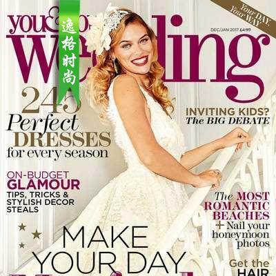 You & Your Wedding 英国时尚婚纱杂志1月号 N1701