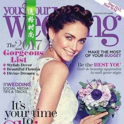 You & Your Wedding 英国时尚婚纱杂志3月号 N1703