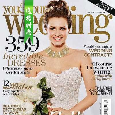 You & Your Wedding 英国时尚婚纱杂志10月号 N1710