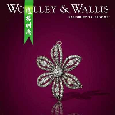 Woolley Wallis 英国古董珠宝首饰设计参考杂志1月 N1901