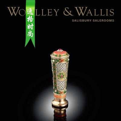 Woolley Wallis 英国古董珠宝首饰设计参考杂志4月 N1904