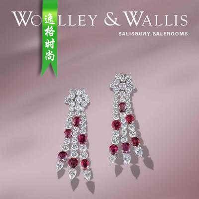 Woolley Wallis 英国古董珠宝首饰设计参考杂志7月 N1907