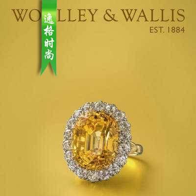 Woolley Wallis 英国古董珠宝首饰设计参考杂志10月N1910