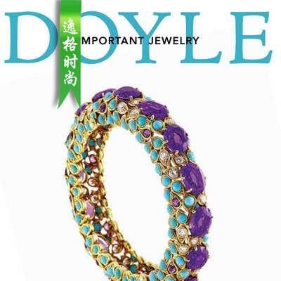DOYLE 美国纽约高级珠宝专业杂志12月号N1912