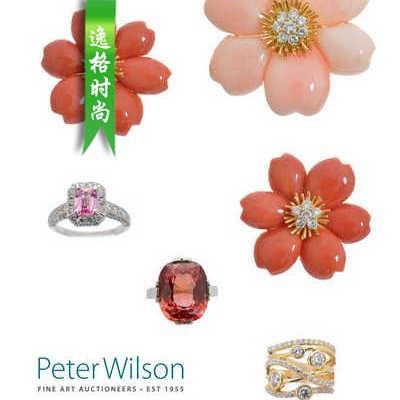 Woolley Wallis 英国古董珠宝首饰设计参考杂志3月N2003