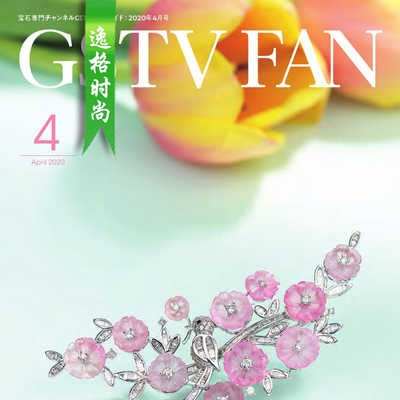 GSTV 日本专业珠宝首饰杂志4月号 N2004